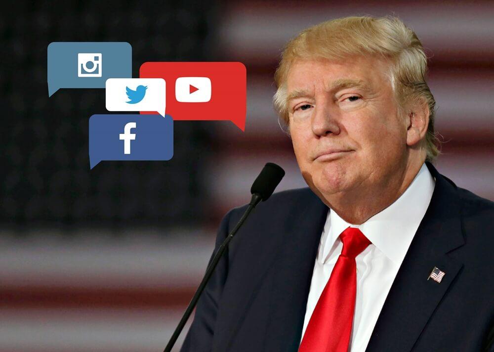 Donald Trump sosyal medya