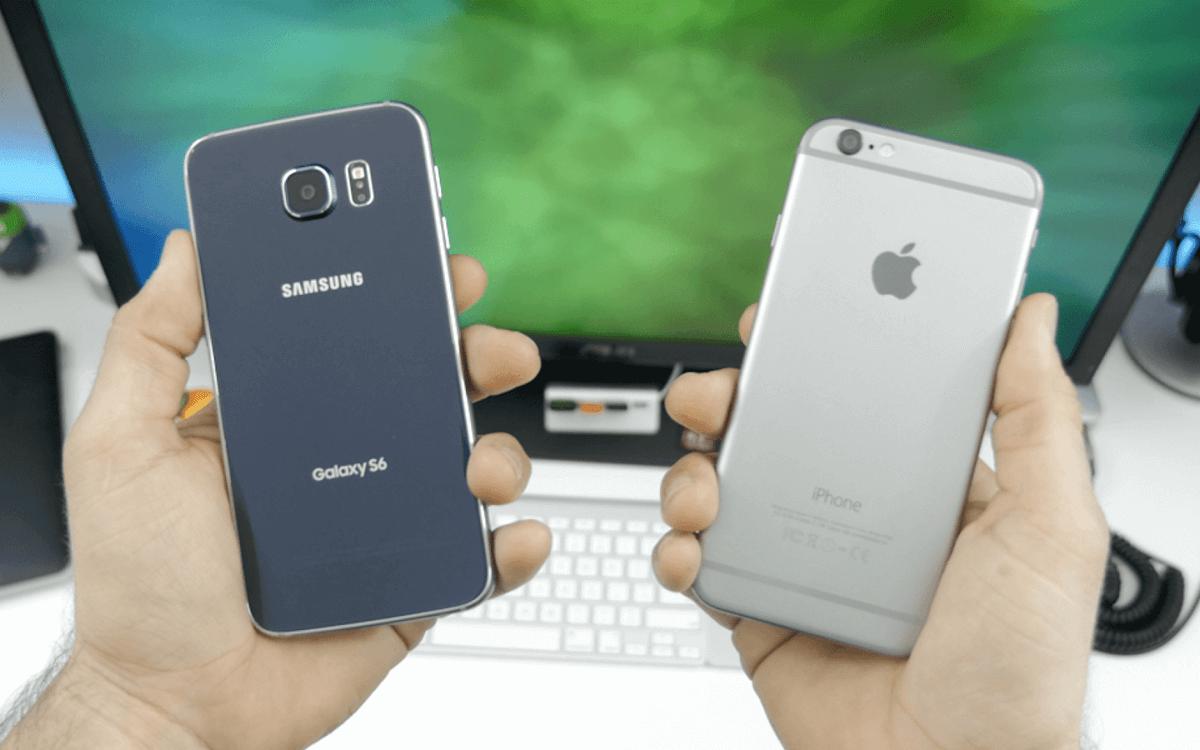 Apple Samsung