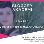 Adasea Blogger Akademi 2019