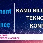 GICTC Kamu Bilgi ve İletişim Teknolojileri Konferansı 2019