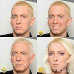 FaceApp Eminem