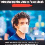 apple yuz maskesi