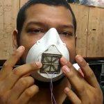sarj edilebilir n95 yuz maskesi